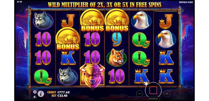 Buffalo King Bonus