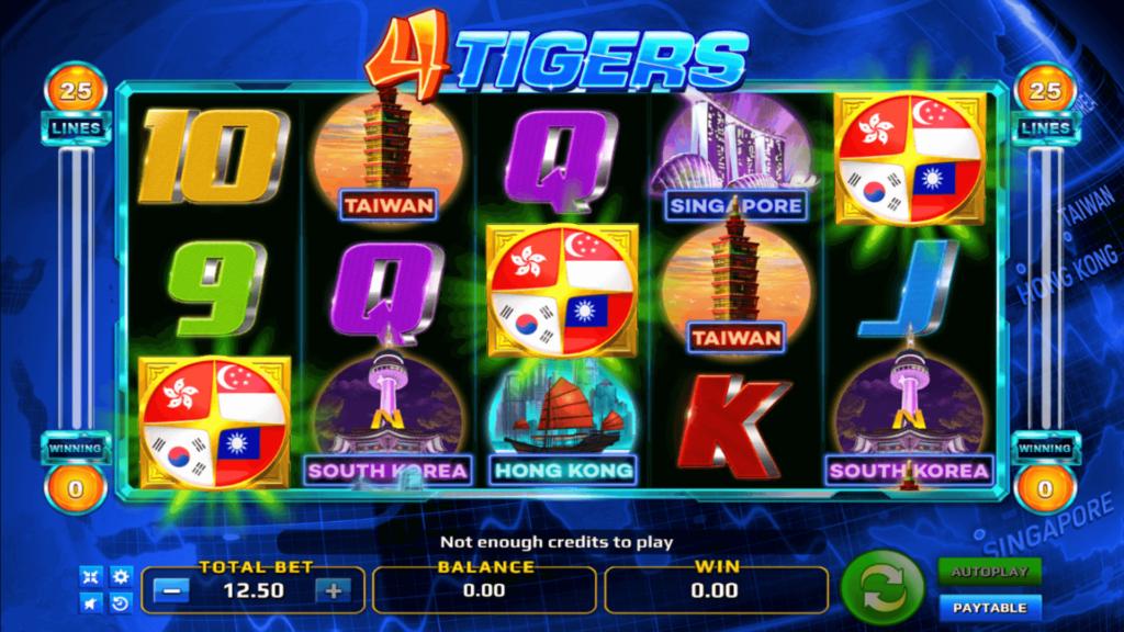 เกม Four Tigers