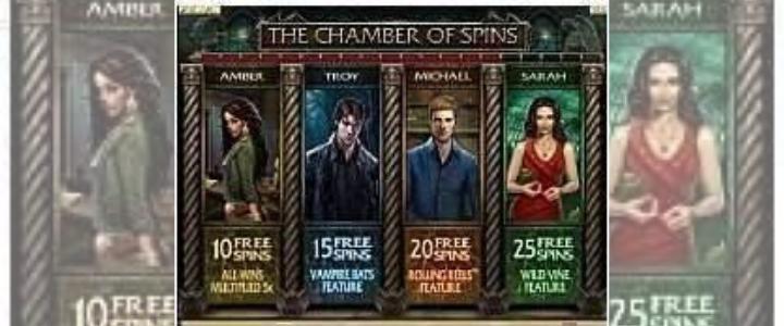 Immortal Romance characters