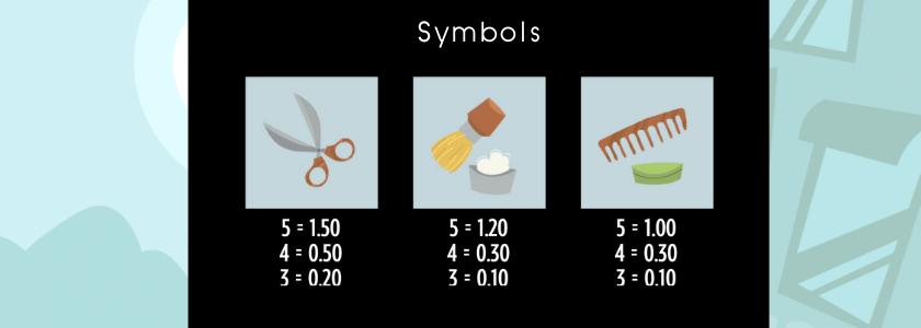Barber Shop Uncut - symbols