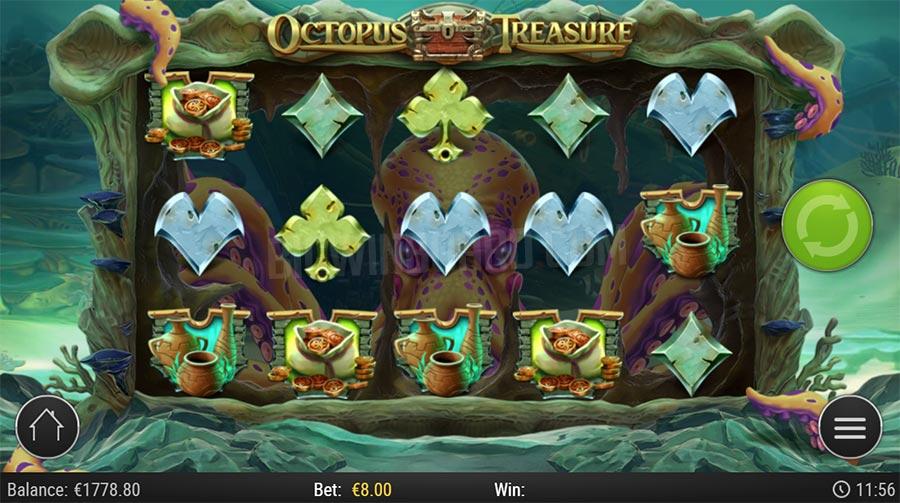 รีวิวเกมสล็อต Octopus Treasure